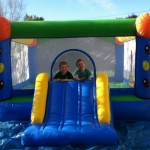Medium Bouncy Castle (blue/green/orange)