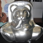 Teddy cake tin
