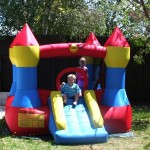 Small Bouncy Castle (red/blue/yellow)